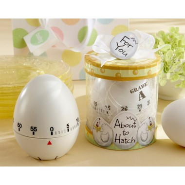 18010WT About to Hatch Kitchen Egg Timer in Showcase Gift Box