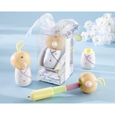 18015NA Baby On Board Expandable Pen in Car Seat Packaging