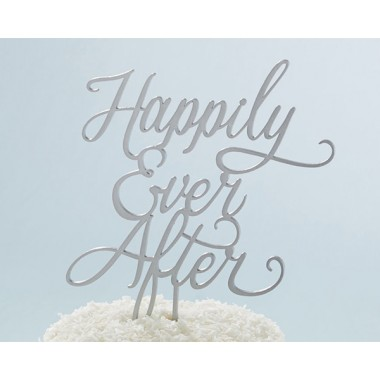 18090NA Classic Happily Ever After Cake Topper