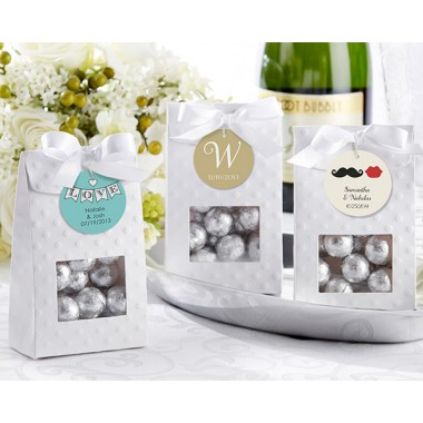 28173NA Chic & Sweet Textured Candy Bag (Set of 24) (Not personalised)