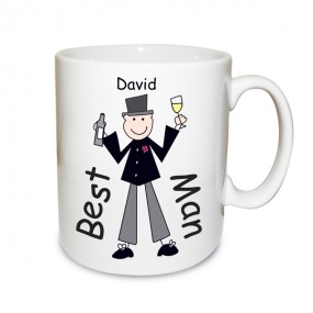 P030674 Male Wedding Character Large Mug